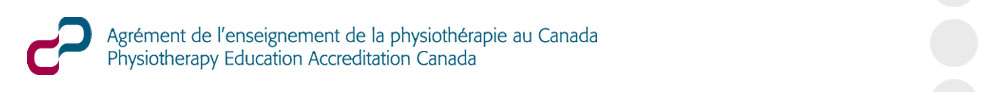 Agrement de l'enseignement de la physiotherapie au Canada
